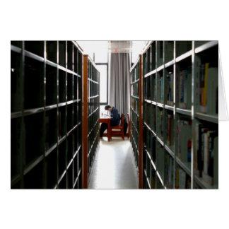 Bibliotheks-Szene - in der Gedankenkarte Karte