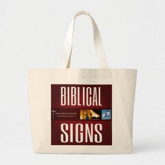Biblische Logo-Taschen-Tasche 2018 der Zeichen-ITH Jumbo Stoffbeutel