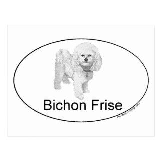Bicho Frise Euro-artig Postkarte