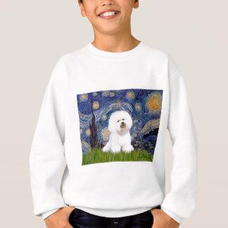Bichon 1 - Sternenklare Nacht Sweatshirt