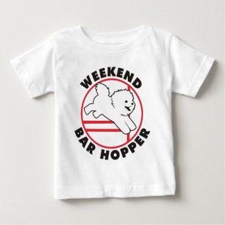 Bichon Agility-Wochenenden-Bar-Trichter Baby T-shirt