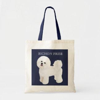 Bichon Frise illustrierte Taschen-Tasche Tragetasche