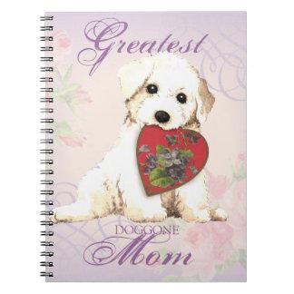 Bichon Herz-Mamma Notizblock