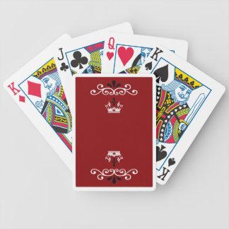Bicycle® Poker, der Karte-Royals spielt Bicycle Spielkarten