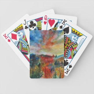 Bicycle® Poker-Spielkarte-Herbst-Landschaft Bicycle Spielkarten
