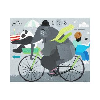 Bicyclette Leinwand-Druck Leinwanddruck