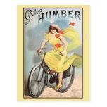 Bicyles Zyklen Ca 1890 Vintage Anzeige Humber Postkarten