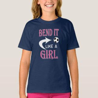 BIEGUNG mag ES einen MÄDCHEN T-Shirt
