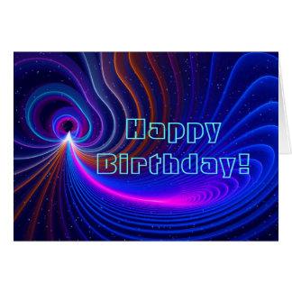 Biegungs-Geburtstag Karte