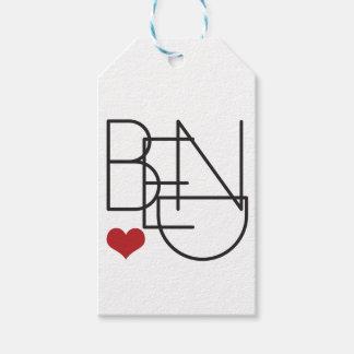 Biegungs-Oregon-Wort-Herz-Logo Geschenkanhänger