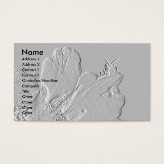 Biene auf Blumen-Blumenblatt-Entwurf Visitenkarte