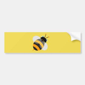 Biene Autoaufkleber