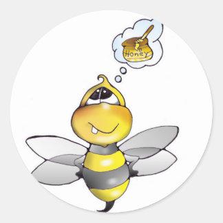Biene Bienen aufkleber - sticker bee bees