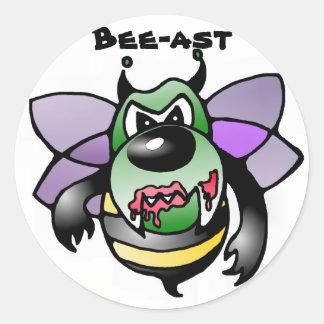 Biene Bienen bee bees sticker aufkleber beast