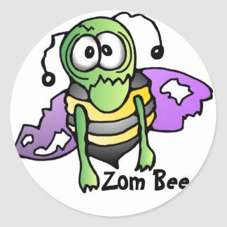Biene Bienen bee bees sticker aufkleber Zombi