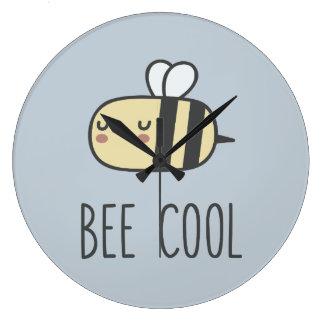 Biene cool große wanduhr