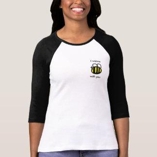Biene drei Viertel-Längen-T - Shirt