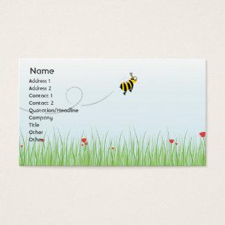 Biene - Geschäft Visitenkarte