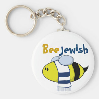 """""""Biene jüdisch """" Schlüsselanhänger"""