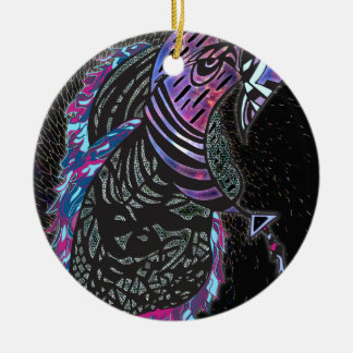 Biene Keramik Ornament