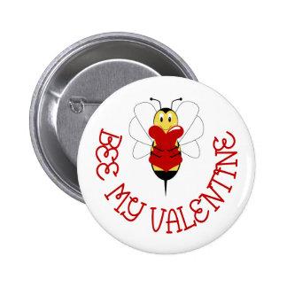 Biene mein Valentinsgruß-Knopf Anstecknadelbutton