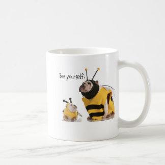 Biene sich kaffeetasse
