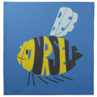 Biene sich stoffserviette