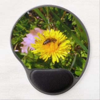 Biene und Löwenzahn Gel Mousepad
