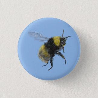 Bienen-Abzeichen Runder Button 2,5 Cm
