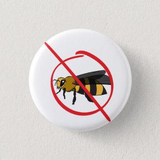 Bienen-Allergie Runder Button 3,2 Cm