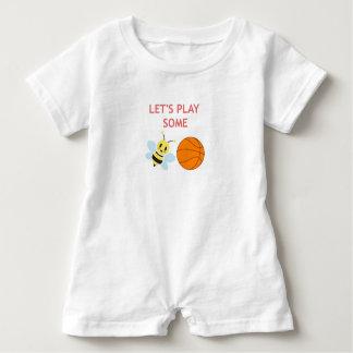 Bienen-Ball-Spielanzug Baby Strampler