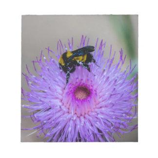 Bienen-bestäubenWildblumen Notizblock