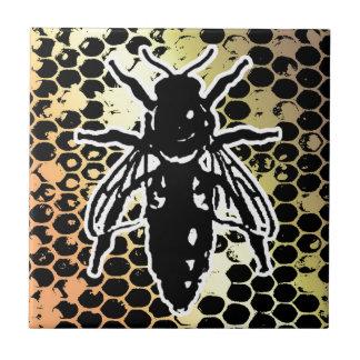 Bienen-Bienenwabe geometrisch Keramikfliese