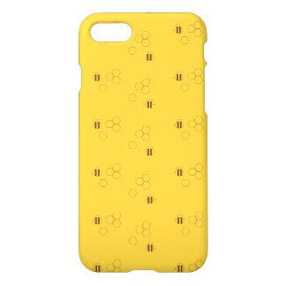 Bienen-Bienenwaben-Muster iPhone 8/7 Hülle