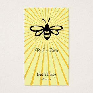 Bienen-Explosion Visitenkarten