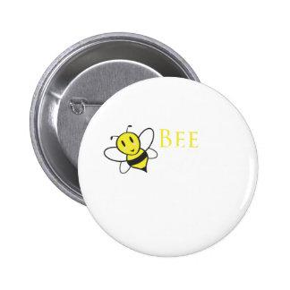 Bienen-freier inspirierend Entwurf Runder Button 5,1 Cm