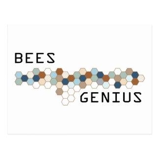 Bienen-Genie Postkarte