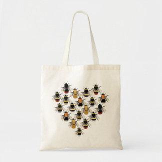 Bienen-Herz-Taschen-Tasche Tragetasche
