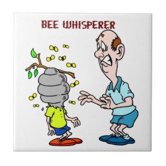 Bienen-Liebhaber-Bienewhisperer-Hummel Fliese