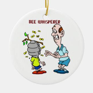 Bienen-Liebhaber-Bienewhisperer-Hummel Keramik Ornament