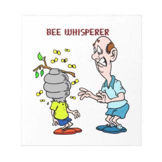 Bienen-Liebhaber-Bienewhisperer-Hummel Notizblock