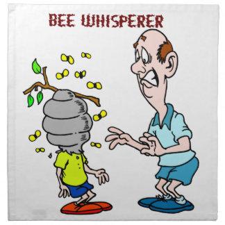 Bienen-Liebhaber-Bienewhisperer-Hummel Stoffserviette
