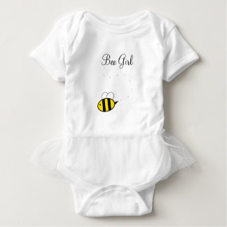 Bienen-Mädchen-Bodysuit-Ballettröckchen Baby Strampler