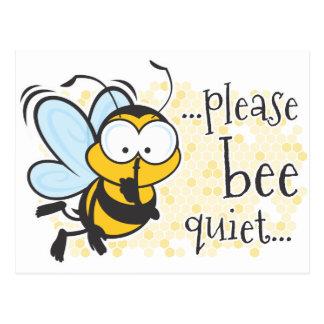 Bienen-Ruhe Postkarte