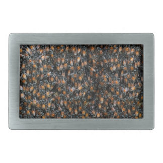 Bienen-schöner Bienenstock Rechteckige Gürtelschnalle