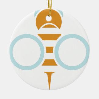 Bienen-Symbol Keramik Ornament