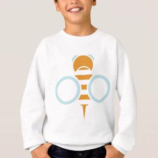 Bienen-Symbol Sweatshirt
