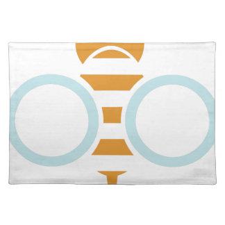 Bienen-Symbol Tischset