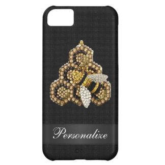 Bienen-u. Bienenwaben-Diamant-Juwelen iPhone 5C Hülle