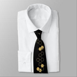 Bienen und Bienenwaben-Krawatte Personalisierte Krawatten